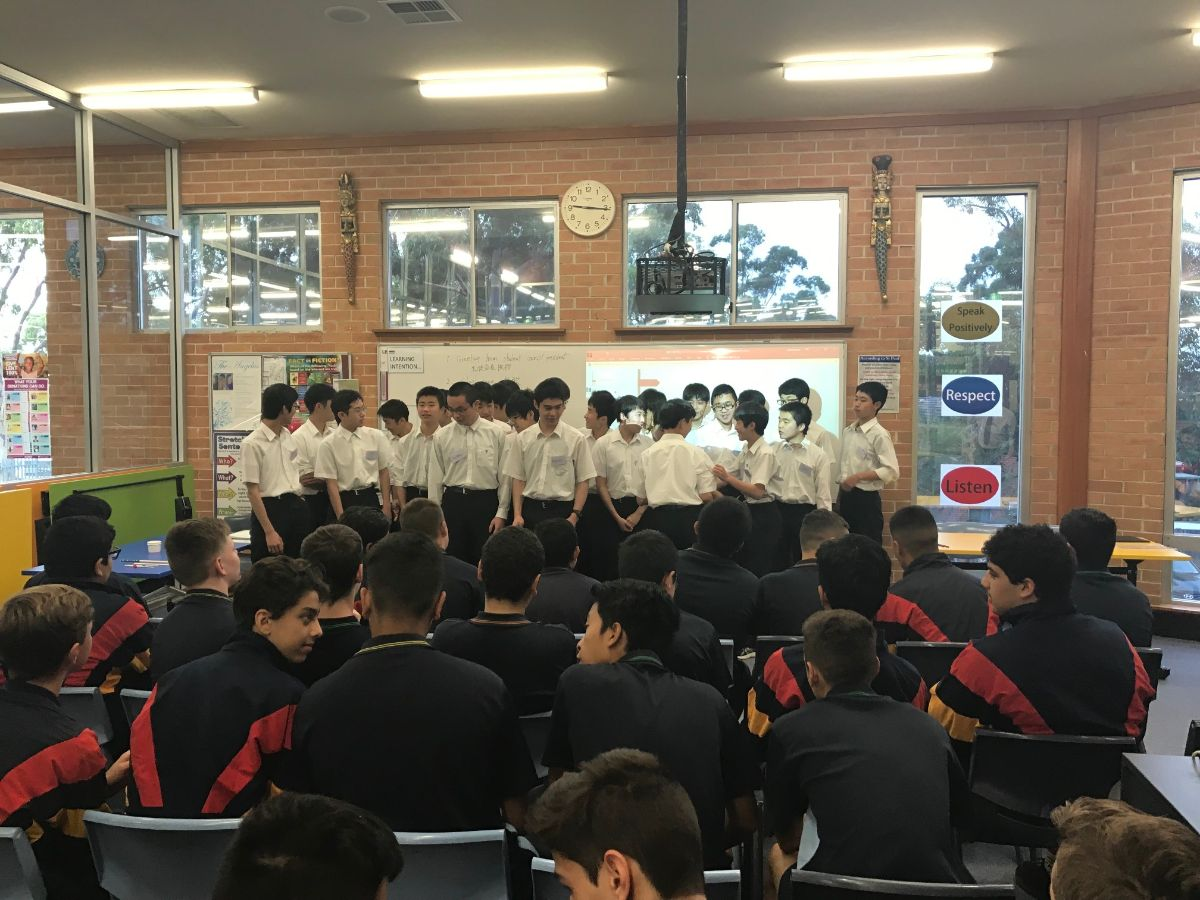Japanese Students Presentation 10
