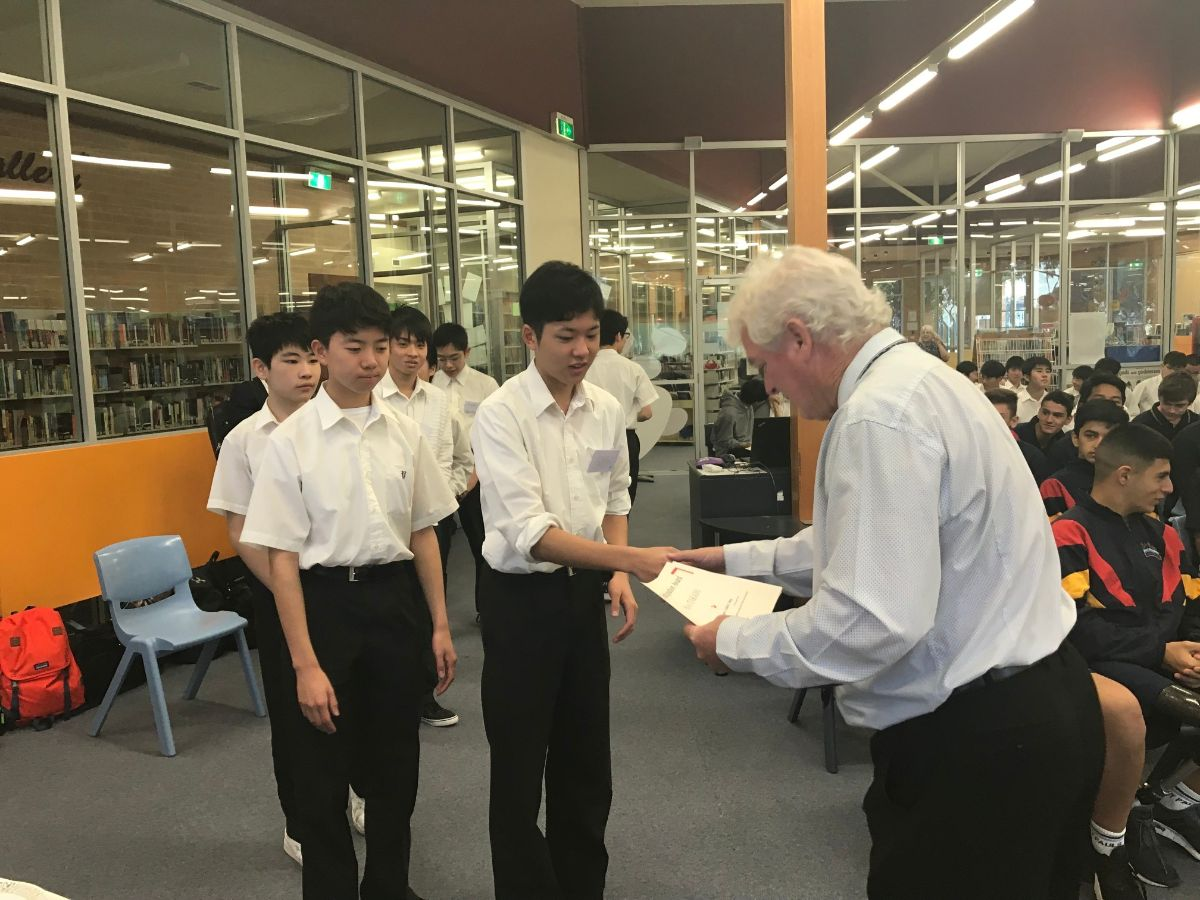 Japanese Students Presentation 6