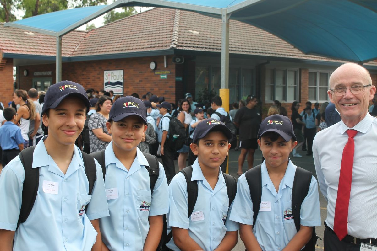 Yr 7 First Day